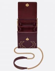 Dior Diorama Vertical Clutch Bag 2