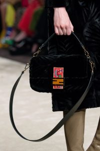 Fendi Black Baguette Bag - Fall 2019