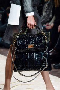 Fendi Black Patent Baguette and Tote Bags - Fall 2019