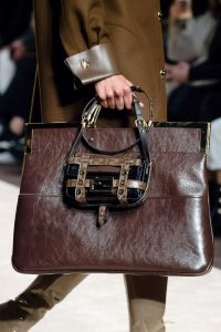 Fendi Brown Tote and Mini Shoulder Bag - Fall 2019