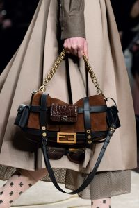 Fendi Brown/Black Baguette Bag - Fall 2019