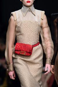 Fendi Red Floral Belt Bag 2 - Fall 2019
