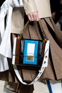 Fendi White/Multicolor Flap Bag - Fall 2019