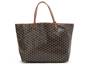 Goyard Black/Tan Saint Louis GM Bag
