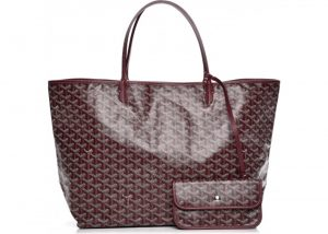 Goyard Burgundy Saint Louis GM Bag