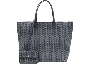 Goyard Grey Saint Louis XXL Bag