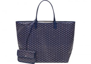Goyard Navy Blue Saint Louis XXL Bag