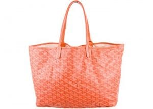 Goyard Orange Saint Louis PM Bag
