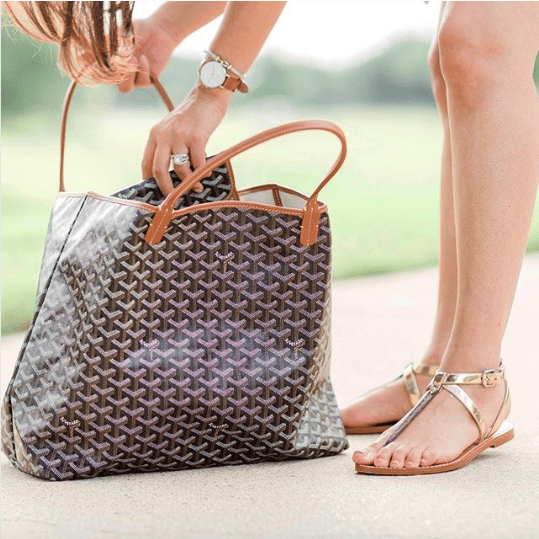 95ad1db786bab3 Goyard Saint Louis Tote Bag Reference Guide | Spotted Fashion