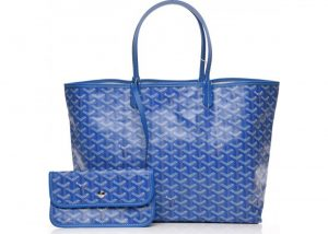 Goyard Sky Blue Saint Louis PM Bag