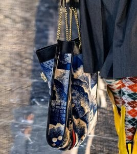 Gucci Blue Printed Rajah Tote Bag - Fall 2019