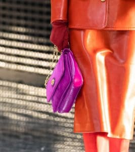 Gucci Purple Flap Bag - Fall 2019