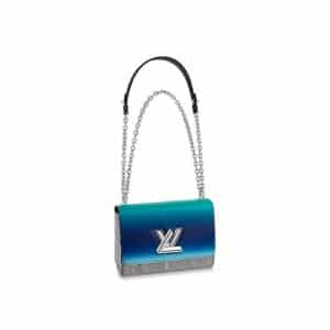 Louis Vuitton Blue Gradient Twist MM Bag