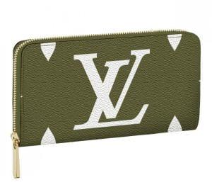 Louis Vuitton Green Monogram Geant Zippy Wallet