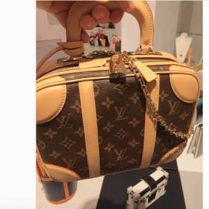 Louis Vuitton Monogram Canvas Mini Luggage Bag 3