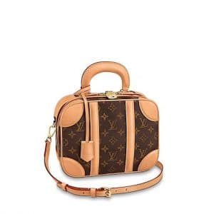 Louis Vuitton Monogram Canvas Mini Luggage Bag