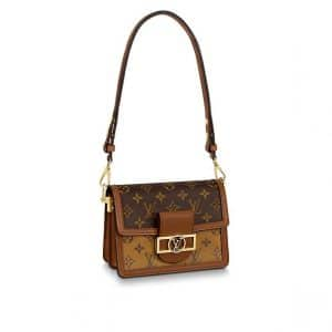 Louis Vuitton Monogram/Monogram Reverse Dauphine Mini Bag