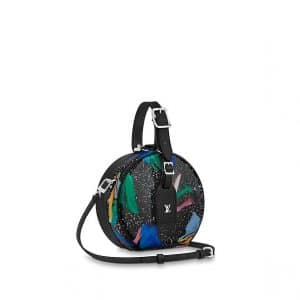 Louis Vuitton Multicolor Splash Print Petite Boîte Chapeau Bag