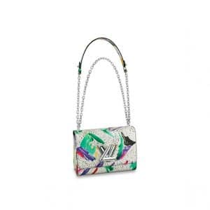Louis Vuitton Multicolor Splash Print Twist MM Bag