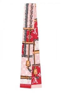 Louis Vuitton Pink Monogram Geant Bandeau