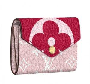 Louis Vuitton Pink Monogram Geant Zoe Wallet