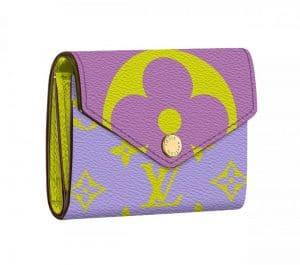 Louis Vuitton Purple Monogram Geant Zoe Wallet