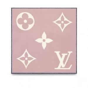 Louis Vuitton Rose Monogram Geant Square