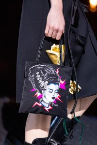 Prada Black Bride of Frankenstein Mini Bag - Fall 2019