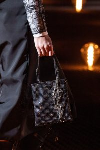 Prada Black Sequin Embellished Mini Bag - Fall 2019