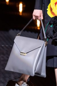 Prada Gray Large Flap Bag - Fall 2019