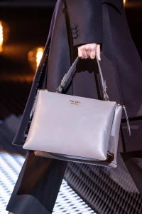 Prada Gray Top Handle Bag - Fall 2019