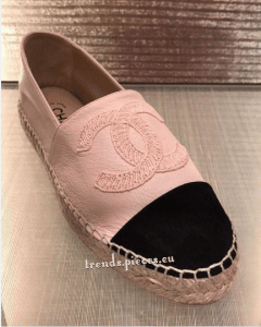 Chanel Pink Espadrilles