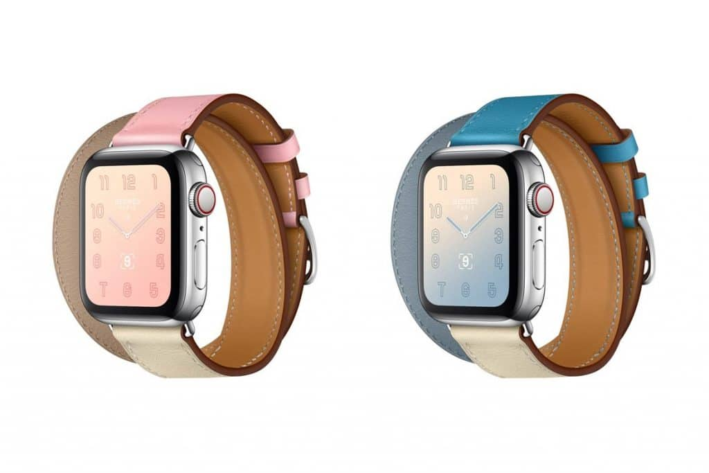 Apple Watch Hermes Pastel