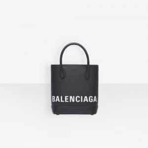 Balenciaga Black Ville Tote XXS Bag