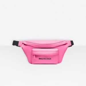 Balenciaga Neon Pink Everyday Belt Pack Bag