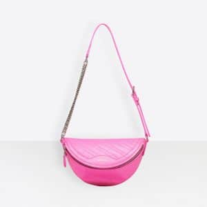 Balenciaga Neon Pink Souvenirs XXS Belt Bag