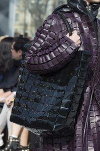 Bottega Veneta Black Patent Quilted Tote Bag - Fall 2019