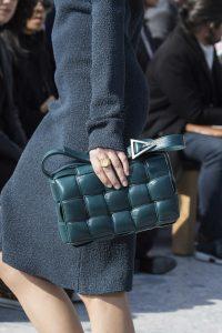 Bottega Veneta Blue Green Shoulder Bag - Fall 2019