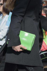 Bottega Veneta Green Clutch Bag - Fall 2019