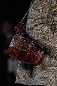 Celine Burgundy Python Shoulder Bag - Fall 2019