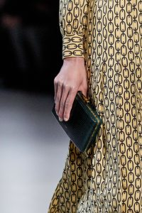 Celine Green Python Minaudiere Bag - Fall 2019