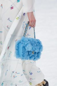 Chanel Blue Fur Flap Bag - Fall 2019
