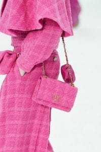 Chanel Pink Tweed Mini Flap Bag - Fall 2019