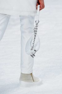 Chanel White Belt Bag - Fall 2019