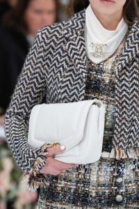 Chanel White Flap Bag - Fall 2019