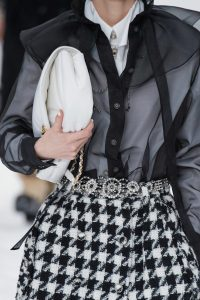 Chanel White Large Flap Bag 2 - Fall 2019