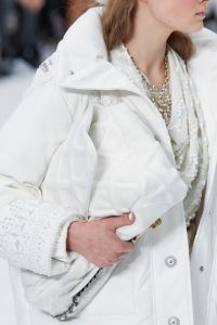 Chanel White Large Flap Bag - Fall 2019