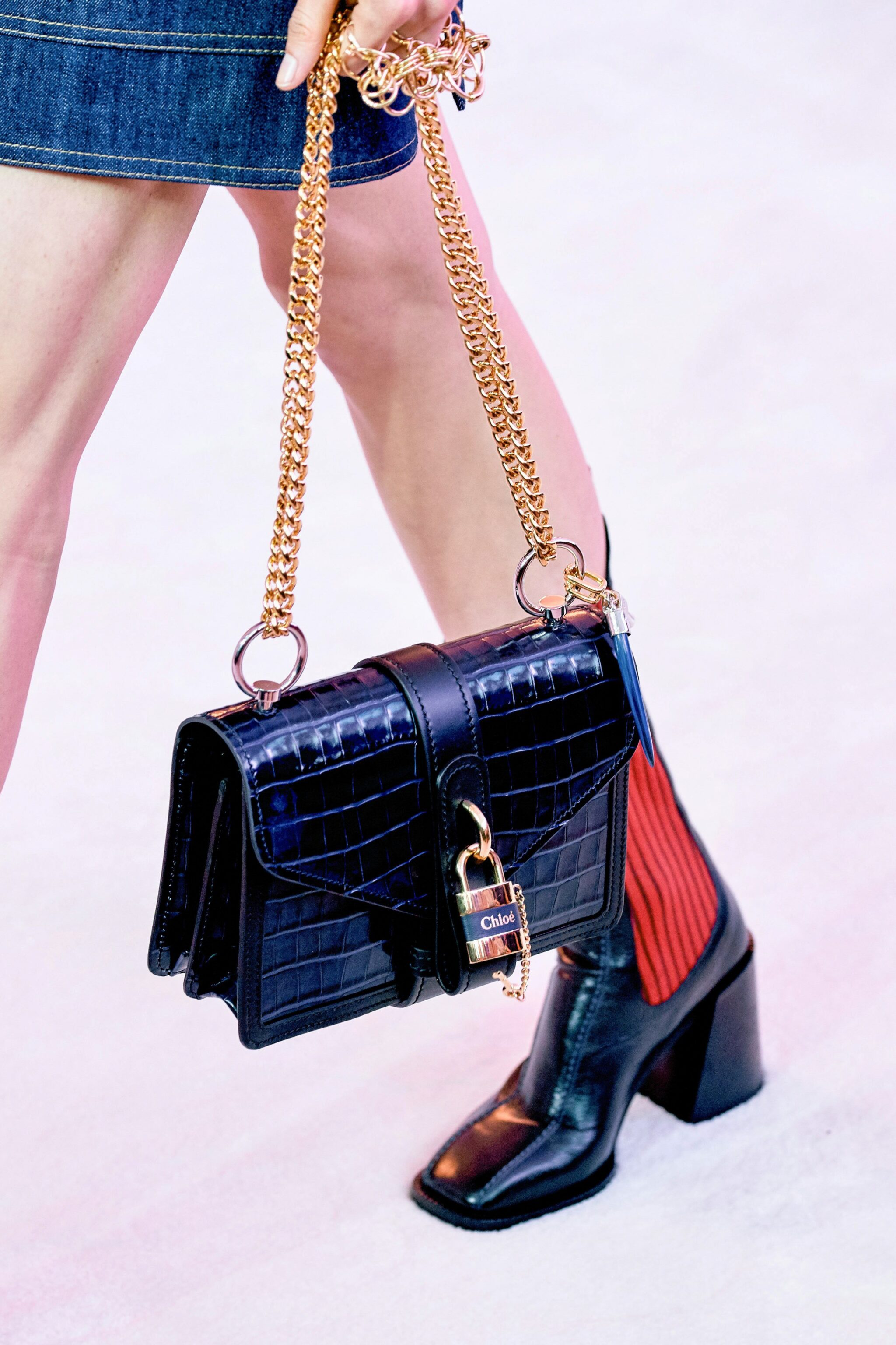 Chloe Fall Winter 2019 Runway Bag Collection Spotted Fashion