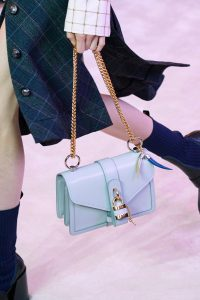 Chloe Light Blue Flap Bag 2 - Fall 2019