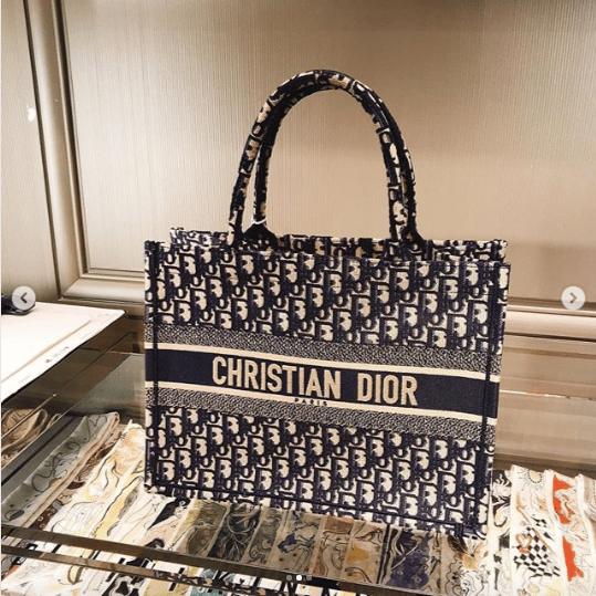 0086381fe Dior Book Tote Will Be Released In A Smaller Version | Spotted Fashion